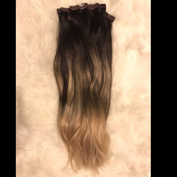 Bellami Other Clipin Remy Hair Extensions 22 Ombre Poshmark